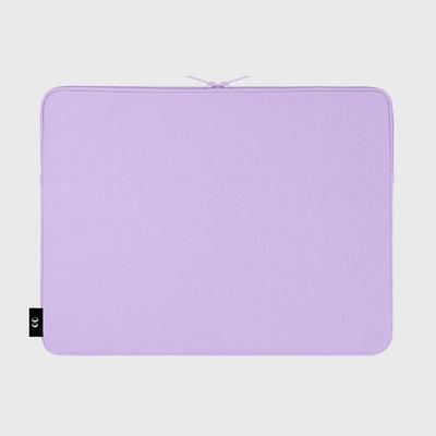 Blue bird bear-purple-15inch notebook pouch(15