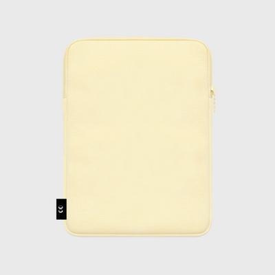 Dot cherry bear-ivory-ipad pouch(아이패드 파우치)