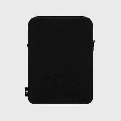 Dot flower bear-black-ipad pouch(아이패드 파우치)