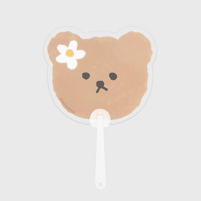 Dot flower bear(부채)