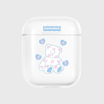 Soft bear-clear(Air pods)