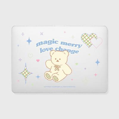 Magic merry-clear(맥북-투명)