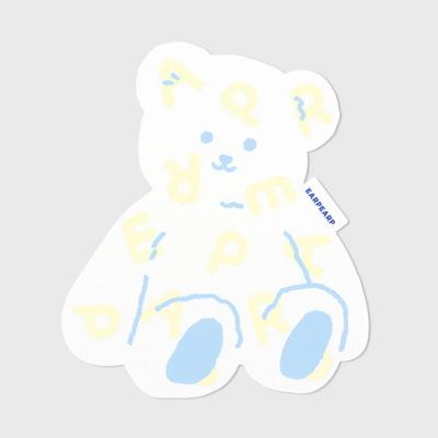 Soft bear-white(마우스패드)