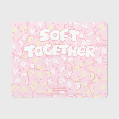 Soft together bear-pink(마우스패드)