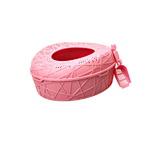 코지스 룰루 탑엔트리 화장실 핑크