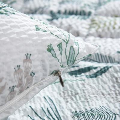 샤르르 포레스트 시어서커 베개(솜포함) 50x70