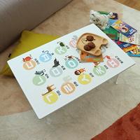 아이들 공부상 한글 접이식테이블 소 600x400