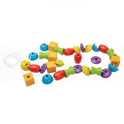 원목교구 학습완구 구슬 꿰기 놀이 5353