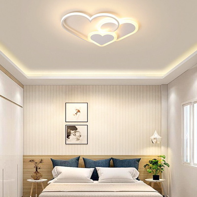 boaz 하트삼총사 방등(LED) 키즈 카페 인테리어 조명