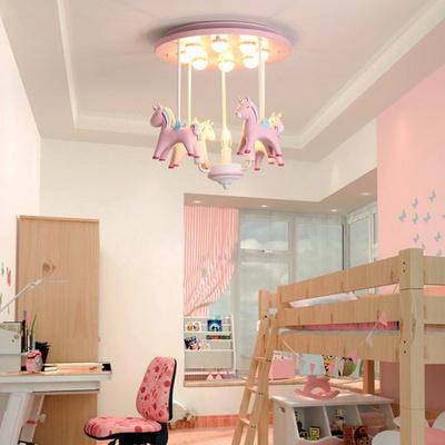 boaz 핑크유니콘 방등(LED) 키즈 카페 인테리어 조명