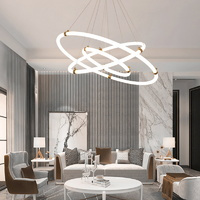 boaz 그로우링3단(LED) 식탁등 거실등 인테리어 조명
