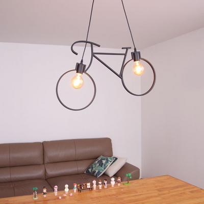 boaz 바이시클2등 식탁등 LED 카페 인테리어 조명
