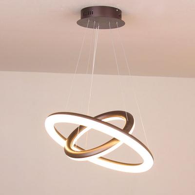 boaz 얼음유리 2단 방등 식탁등 LED 인테리어 조명