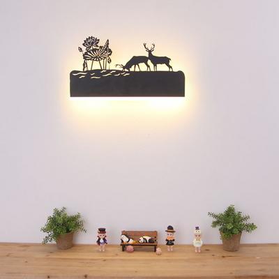 boaz 사슴 벽등 LED 12w