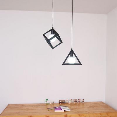 boaz 블랙엣지 식탁등(삼각-사각)