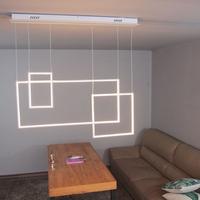 boaz 플레임 LED 식탁등 디자인 카페 인테리어 조명