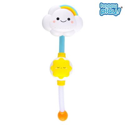 목욕놀이 빙글빙글 무지개 구름 샤워기 유아 물놀이 장난감