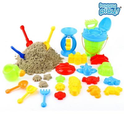 모래놀이세트 25pcs 모래놀이 물놀이 장난감 용품 대용량