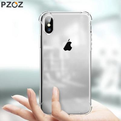 PZOZ 아이폰 충격방지 투명범퍼케이스