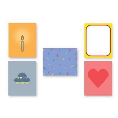 INM Message card set