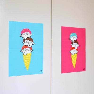 ICE CREAM Poster 2종