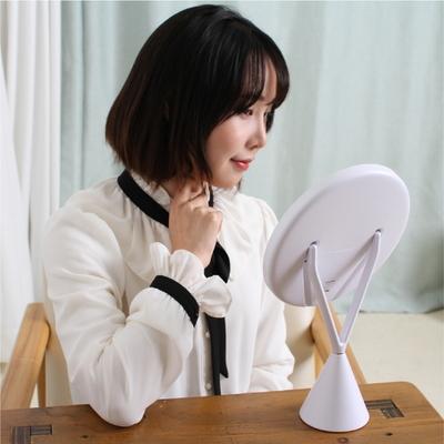 뷰티온 LED화장거울 원형 조명화장대 탁상 메이크업 마법거울