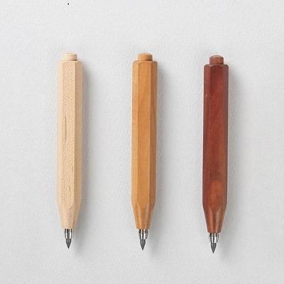 우더 쇼티 클러치 펜슬 우드 헥사 3.15mm
