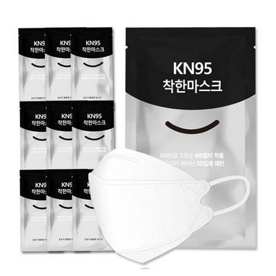 3Q 1회용 KN95 착한마스크 30매입