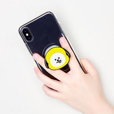 BT21 스마트 그립톡 핸드폰거치대 타타 슈키