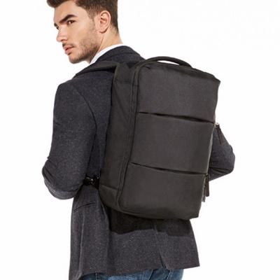 브레드 오픈형 비즈니스 직장인 남자 노트북백팩