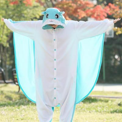 사계절동물잠옷-민트날다람쥐