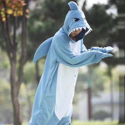 사계절동물잠옷-상어