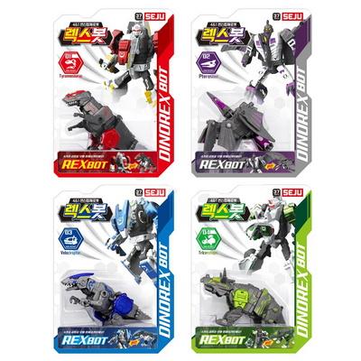 공룡 변신 합체 로봇 렉스봇 장난감