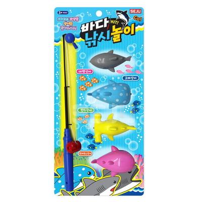 바다 낚시 놀이 상어 잡이