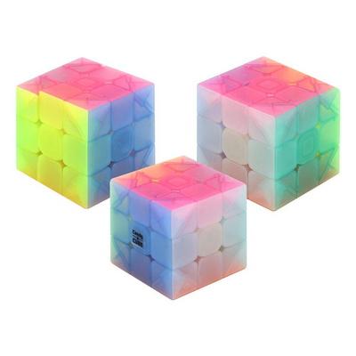 날쌘거북이 3000 반투명 캔디컬러 큐브 3x3x3