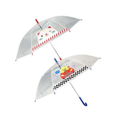 투명 아동 귀여운 캐릭터 장우산 랜덤