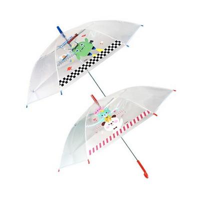 투명 아동 캐릭터 장우산 랜덤