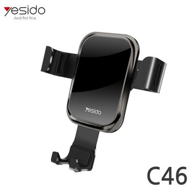YESIDO 차량용 슬라이딩 송풍구 핸드폰거치대 C46