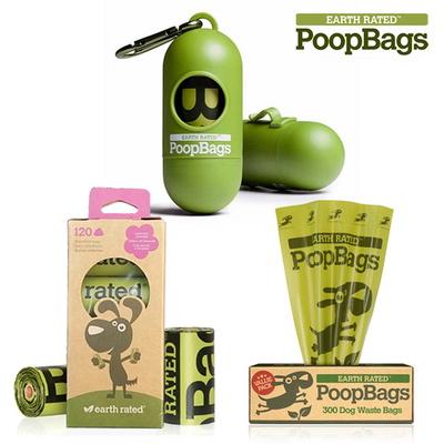 반려견 풉백 PoopBags 배변통 생분해성 배변봉투 모음