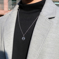 코인 동전 목걸이 lets groove coin necklace