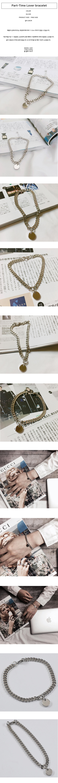 남자 코인 동전 팔찌 - 빅애플, 16,440원, 팔찌, 패션팔찌