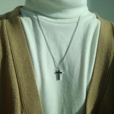 남자 십자가 목걸이 betcha cross necklace