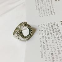 남자 반지 말굽 패션 dolphin dance ring