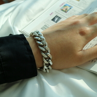남자 팔찌 굵은 패션 cloud8 bracelet