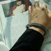 남자 패션 굵은 팔찌 써지컬 No Woman No Cry bracelet