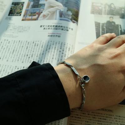 남자 팔찌 블랙 펜던트 Philly Style pendant bracelet