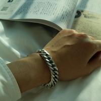 남자 무광 팔찌 굵은 Ready Or Not bracelet
