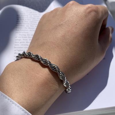 남자 팔찌 써지컬 체인 rope chain