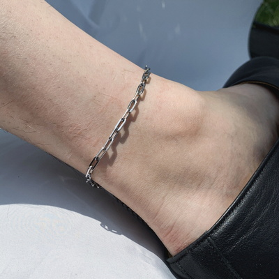 남자 발찌 사슬 체인 써지컬 icn anklet