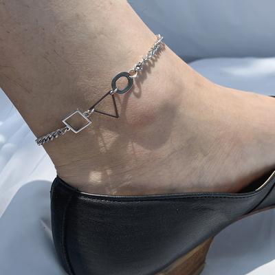 남자 써지컬 발찌 체인 무변색 cds anklet